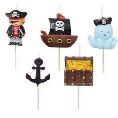 Pirate Themed Candles