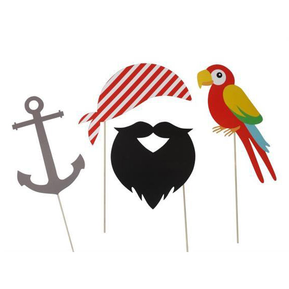 Pirate Party Photo Booth Props - Downloadable PDF