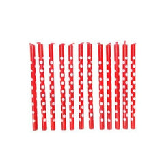 Red Spotty Candles