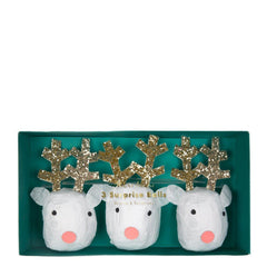 Reindeer Surprise Balls Stocking Fillers