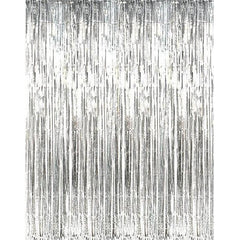 Silver Foil Backdrop