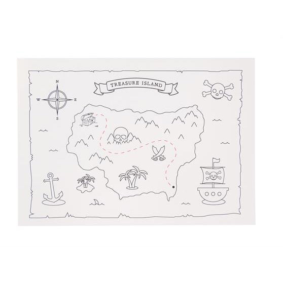8 Pirate Treasure Maps