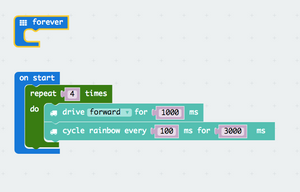 micro:bit Programming - Make a For Loop