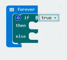 micro:bit Programming - Use the if then else statement in MakeCode