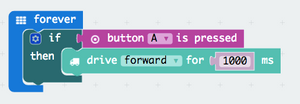 micro:bit Programming - Make an if statement with a robot