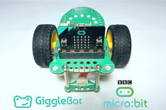 Easy Micro:Bit Rover In this lesson, we are using a BBC Micro:Bit to drive and control a GiggleBot with MakeCode.