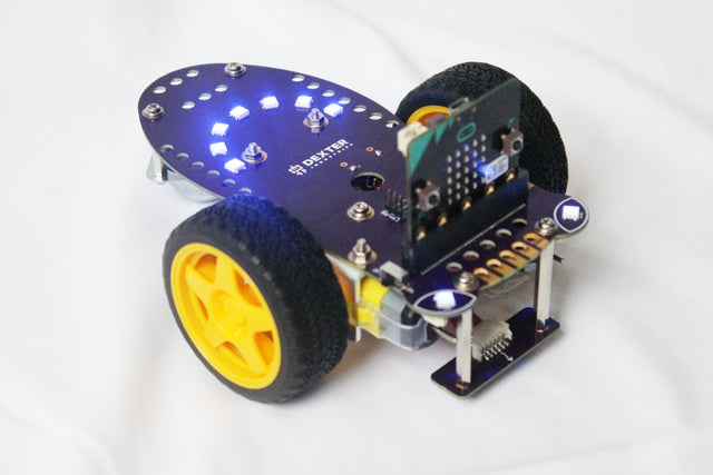 GiggleBot is the Micro:Bit Robot for learning coding in the classroom.
