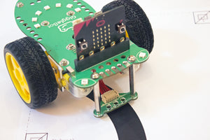 GiggleBot microbit robot line follower