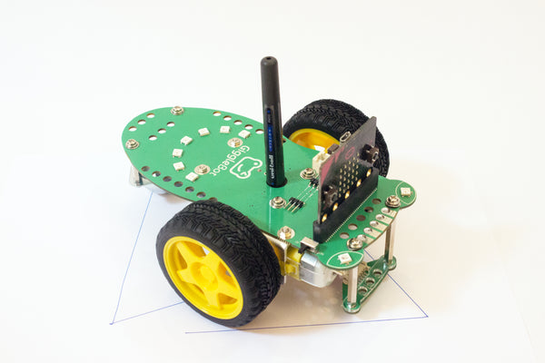 GiggleBot microbit robot for stem learning