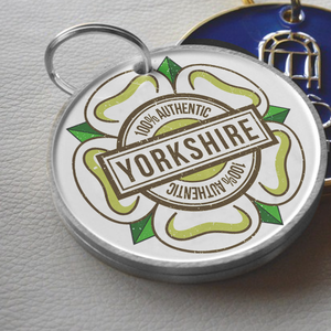 Key Rings And Pin Badges