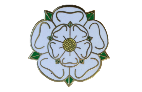 Yorkshire Rose Pin Badge