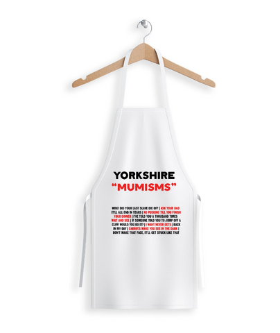 "Yorkshire ""Mumisms"" Apron"