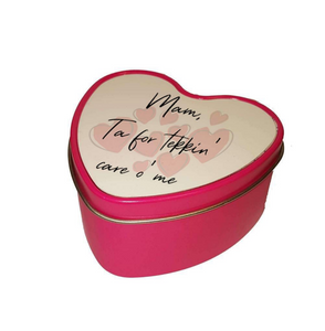 Mam, Ta for tekkin' care o' me Heart Shaped Candle