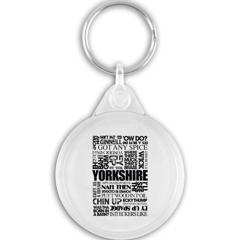 Yorkshire Sayings Key Ring