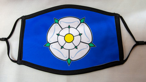 Yorkshire Face Mask (Blue)