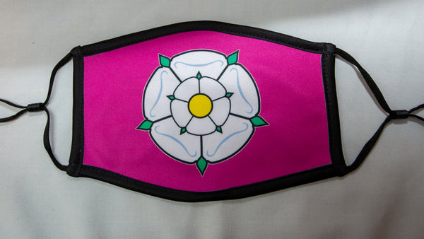 Yorkshire Face Mask (Pink)