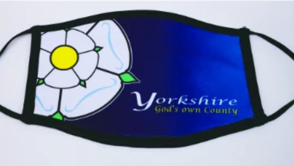 Yorkshire Face Mask (Gods Own County)