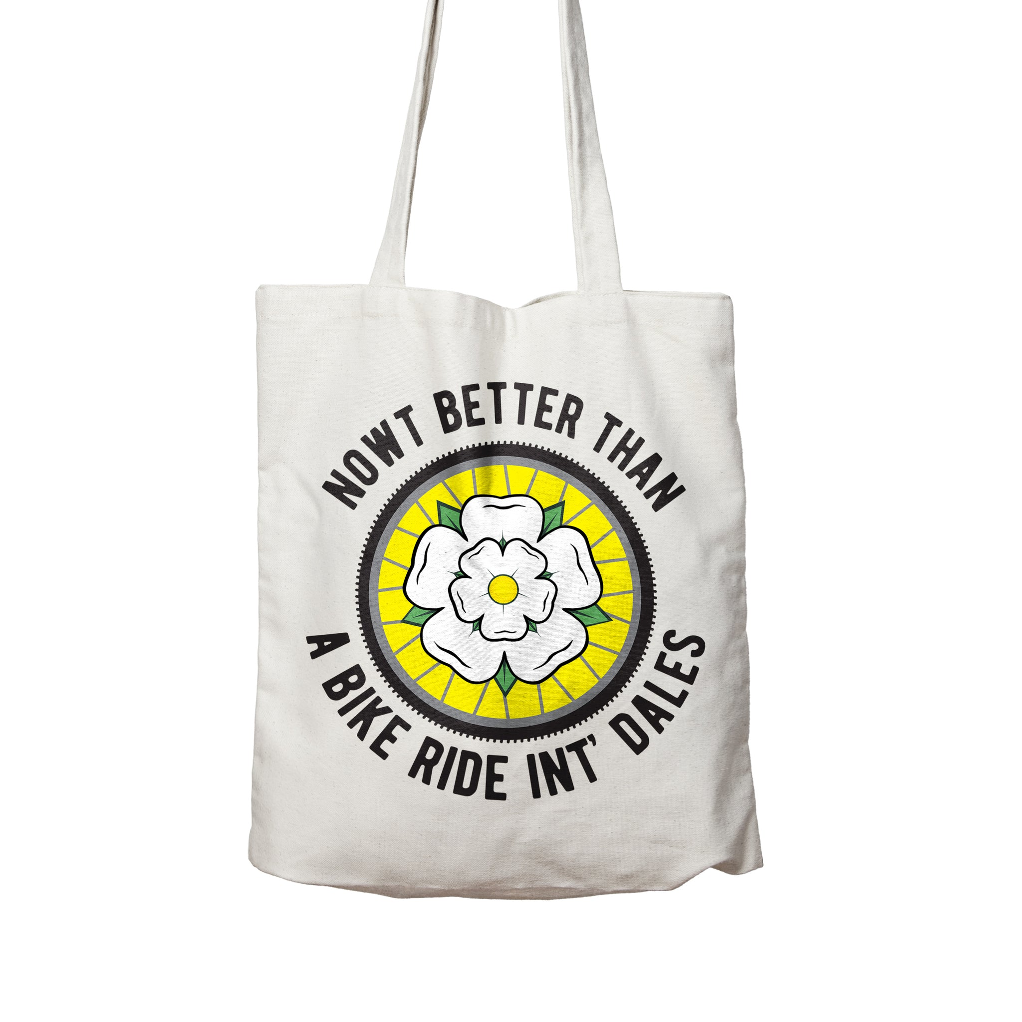 Bike Ride Int' Dales Tote Bag