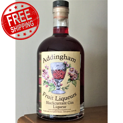 Blackcurrant Gin Liqueur