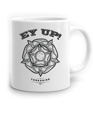 Ey Up Yorkshire Rose Mug