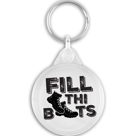 Fill Thi Boots Key Ring