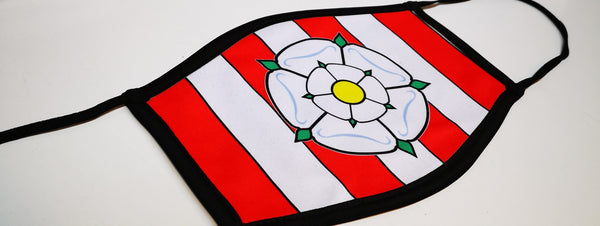 Yorkshire SUFC Face Mask