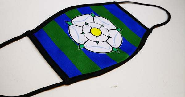 Yorkshire LUFC (G&W) Face Mask