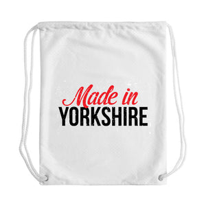 Made in Yorkshire Draw String Bag