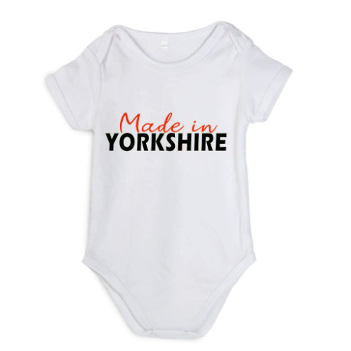 Made In Yorkshire Babygrow