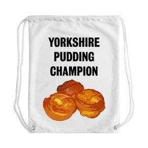 Yorkshire Pud Champ Draw String Bag