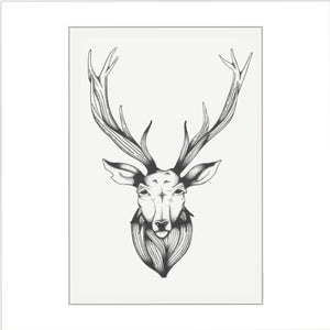 Stag Tea Towel