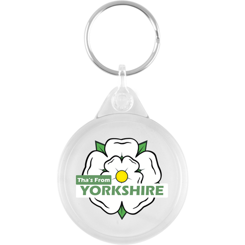 Tha's From Yorkshire Keyring