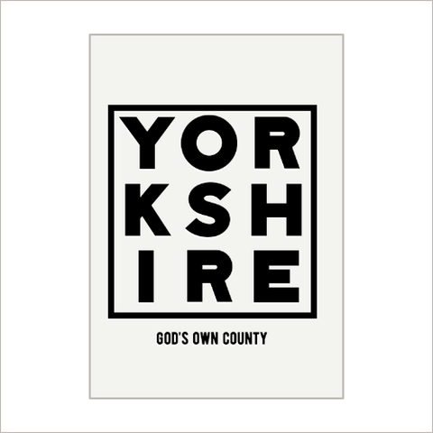 God's Own County Tea Towel