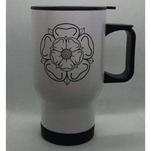 Yorkshire Rose Travel Mug