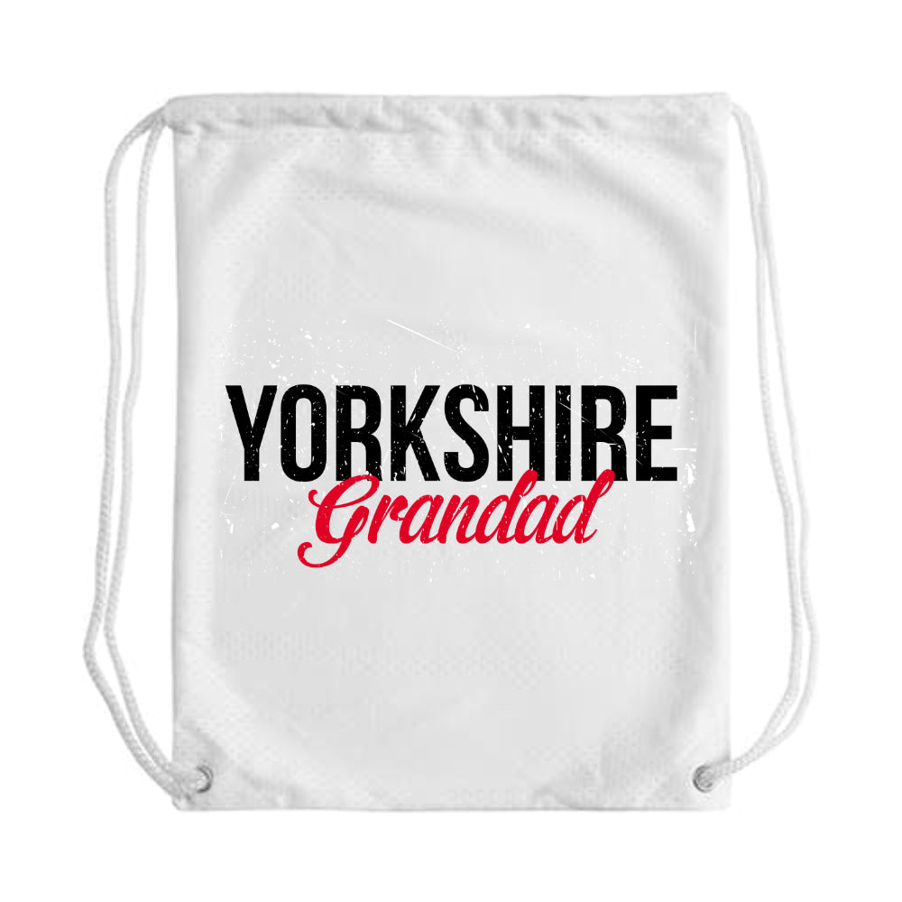 Yorkshire Grandad Draw String Bag