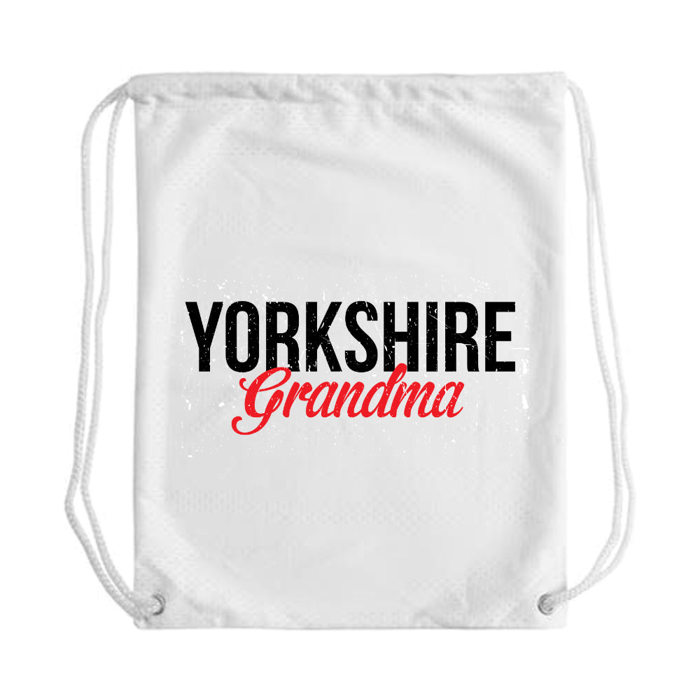Yorkshire Grandma Draw String Bag