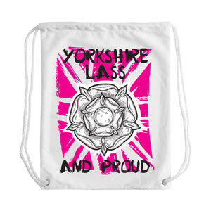 Yorkshire Lass Draw String Bag