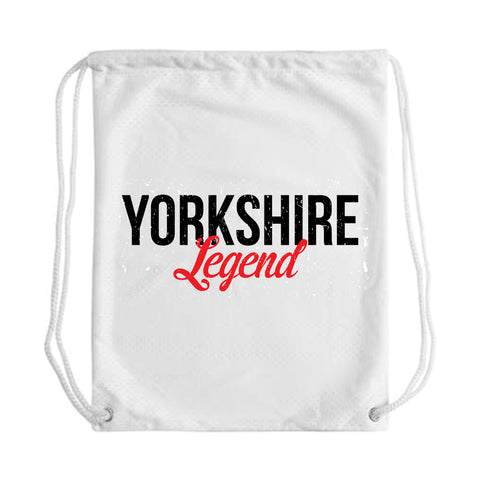 Yorkshire Legend Draw String Bag