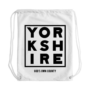 Gods own County Draw String Bag