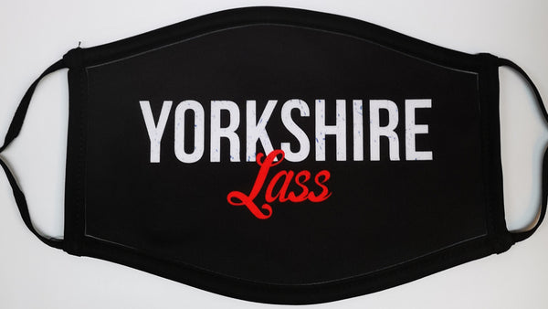 Yorkshire Lass Face Mask