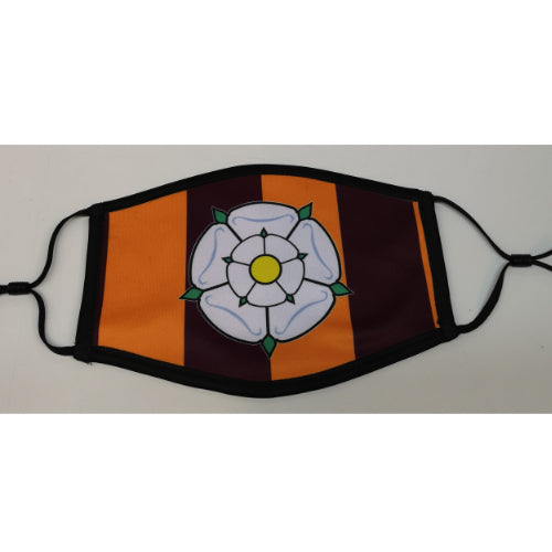 Yorkshire BCAFC Face Mask