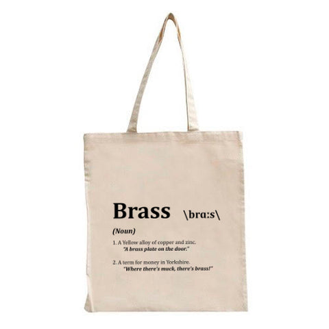 Brass Tote