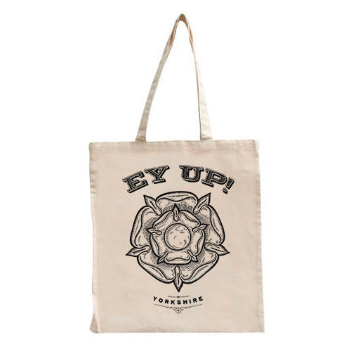 Ey Up Yorkshire Rose Tote Bag