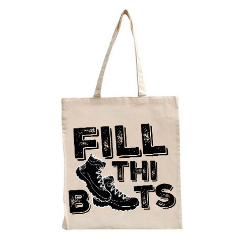 Fill Thi Boots Tote Bag