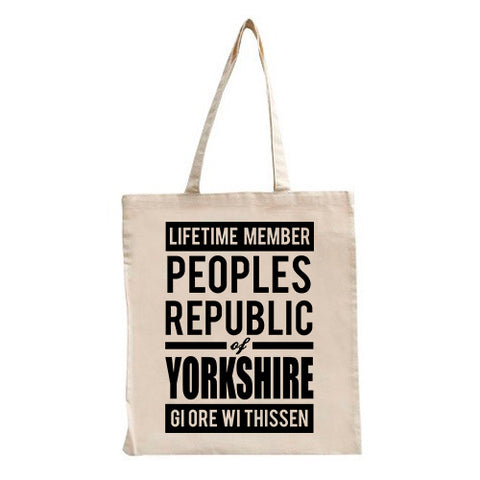 People Republic of Yorkshire Tote Bag