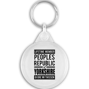 Peoples Republic Key Ring