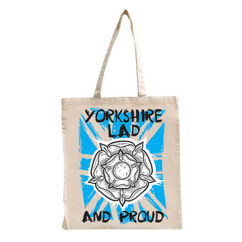 Yorkshire Lad & Proud Tote Bag