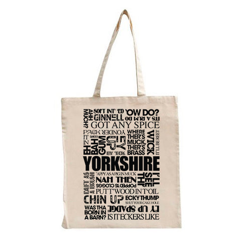 Yorkshire Sayings Tote Bag