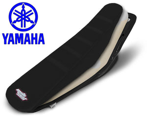Yamaha Complete Ribbed Seat (All Black)