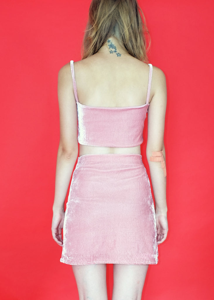 Burning skirt (Pink)
